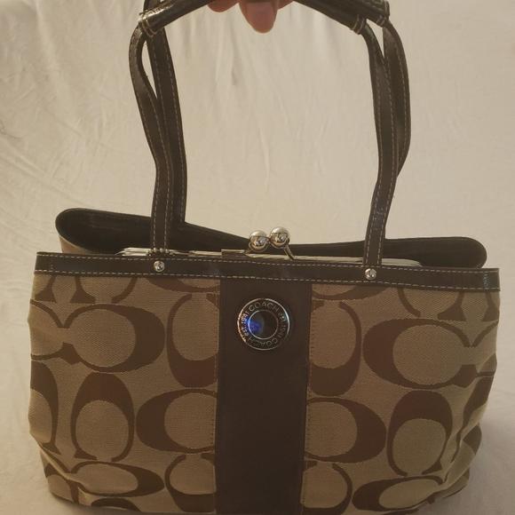 Coach Handbags - COACH Snap-Top Satchel